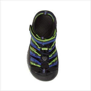 Keen Shoes - KEEN Newport H2 Sandal Racer Black Blue Green.!